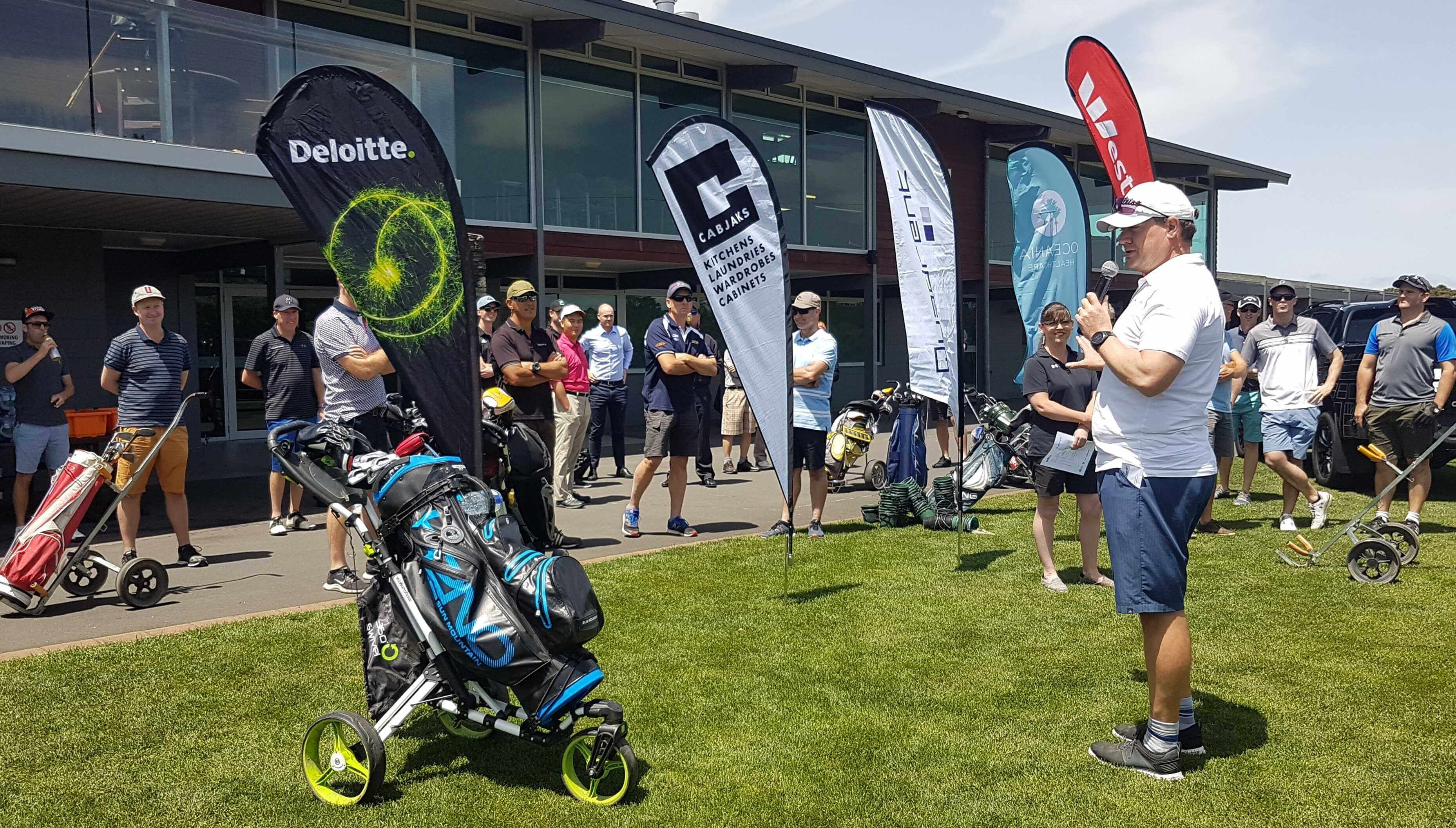 1 - Quadrent Kicks off the 2019 Charity Golf Day