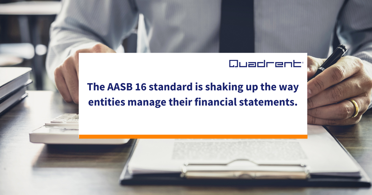 The effects of IFRS 16 on financial statements.