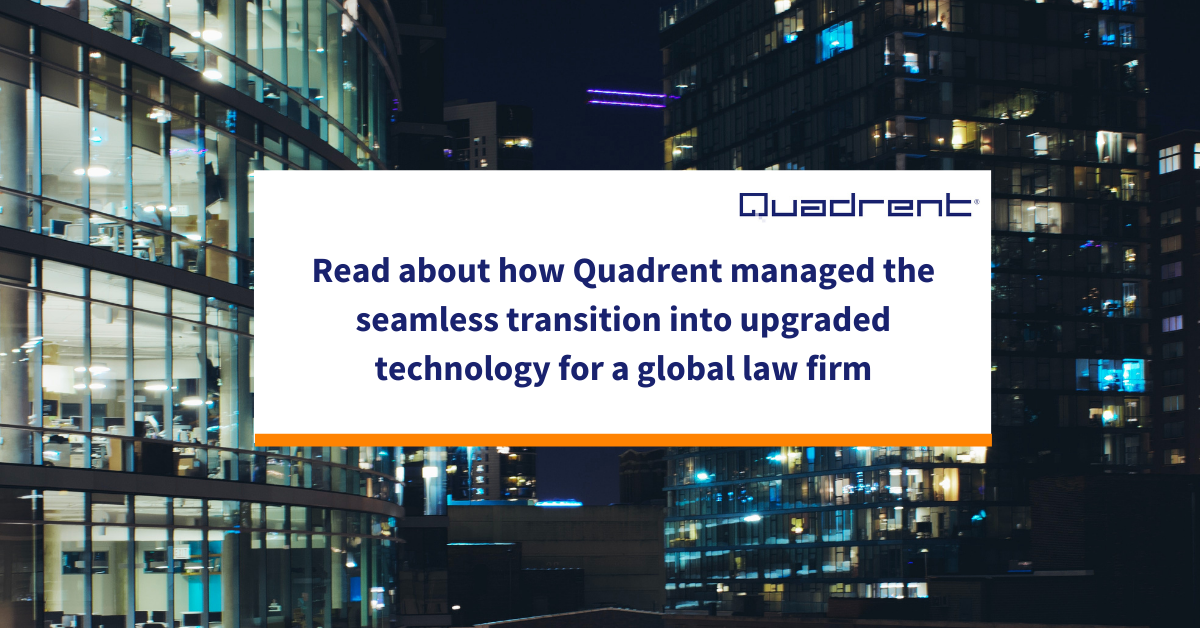 Client success story - Global Law Firm