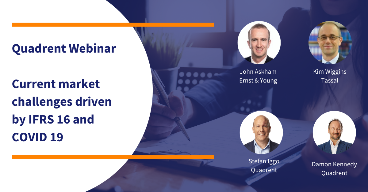 Webinar wrap up - Market insights on IFRS 16 and COVID19
