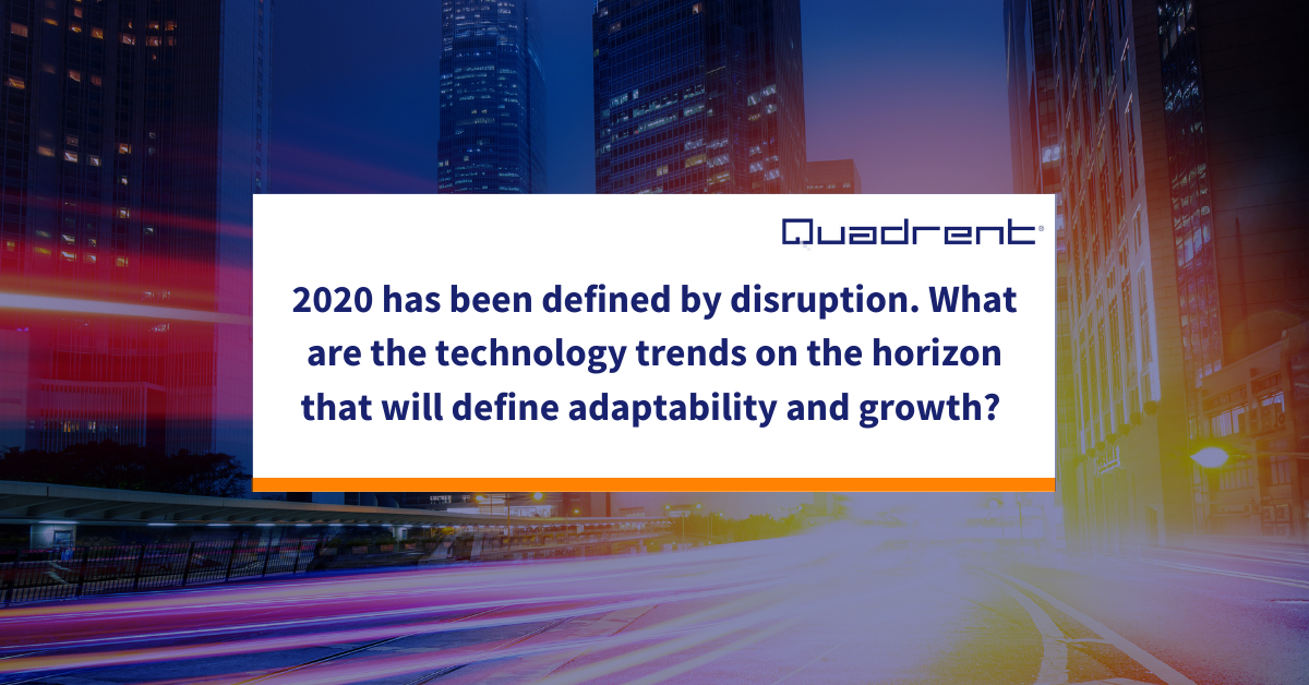 The technology trends that will define 2021