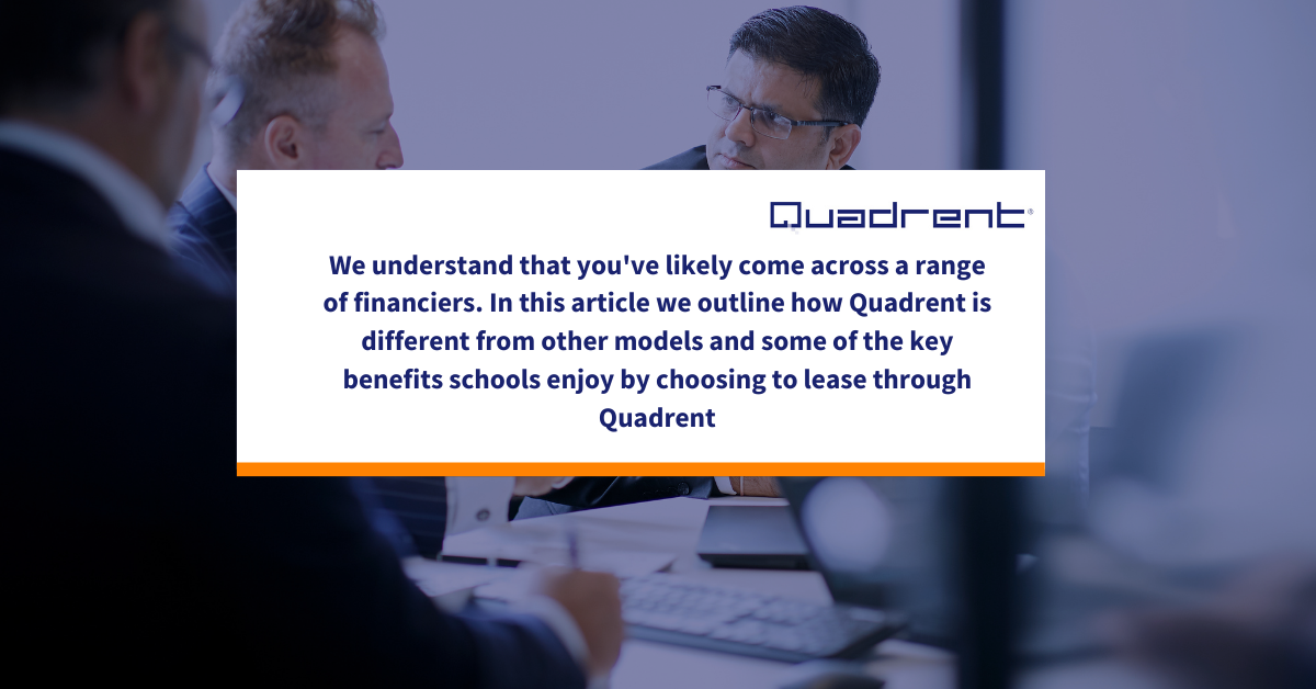 How Quadrent is different from other Financiers in the Education sector