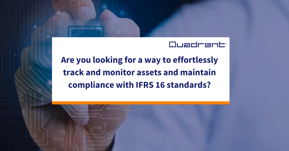 Are you maintaining compliance with IFRS 16/ AASB 16 standards?