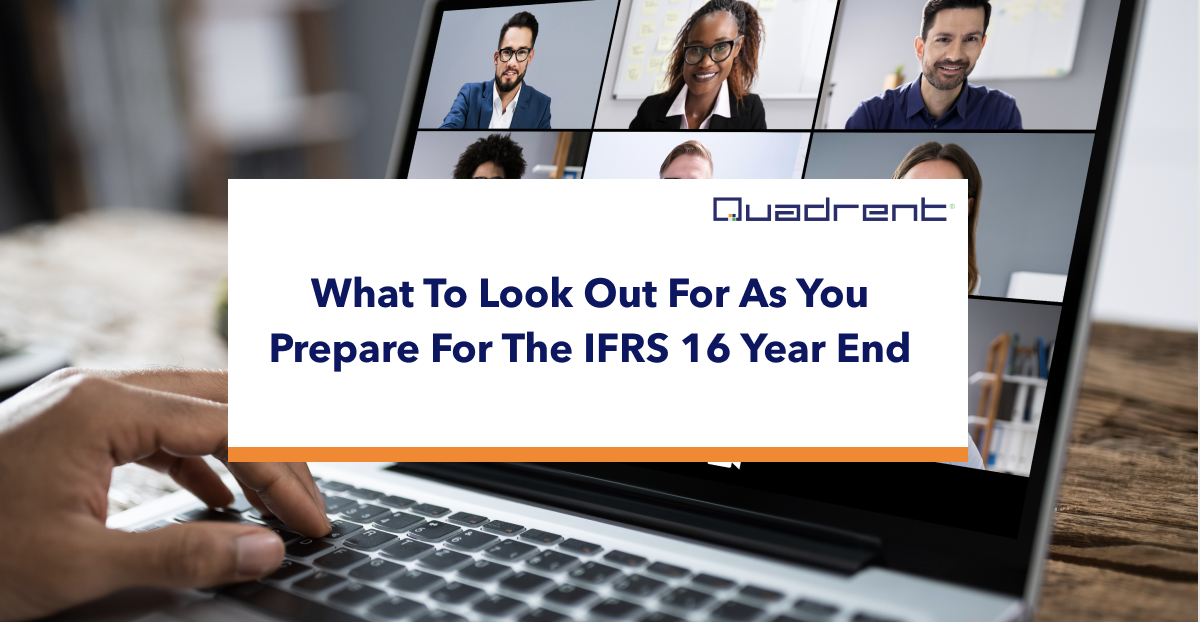 What to look out for as you prepare for IFRS 16 year end